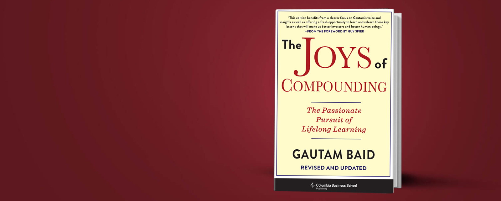 The joys of compounding gautam baid
